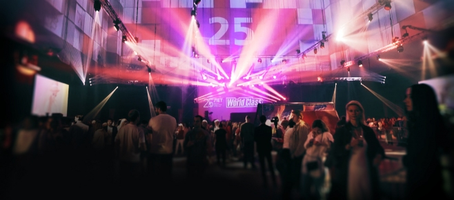 World Class 25th Anniversary || Video Projection Show